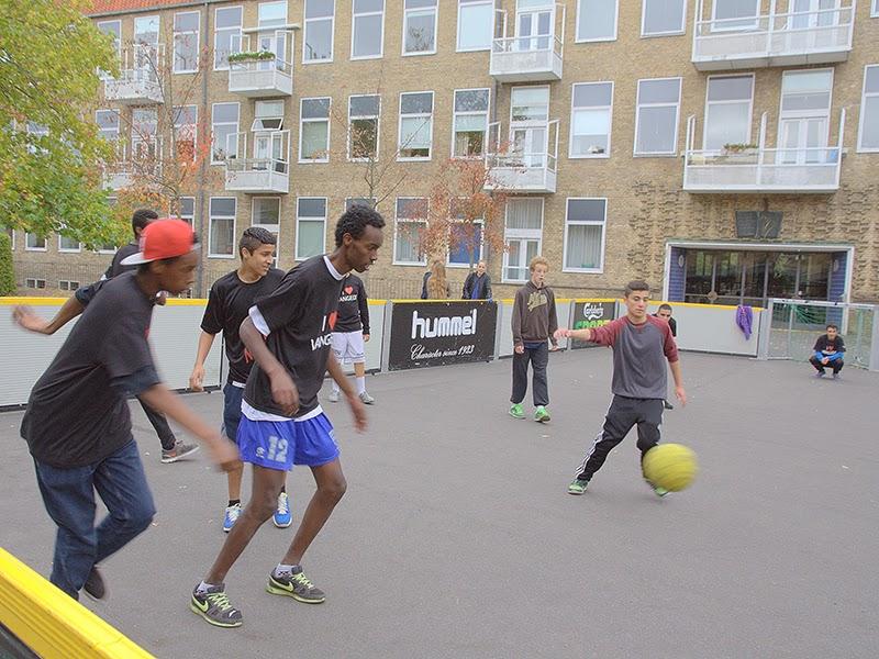 Photo: Streetfodbold - C Foto: Poul Reinhard