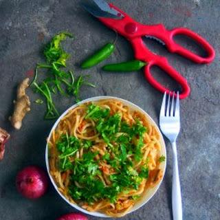 Chicken and veggie Noodles