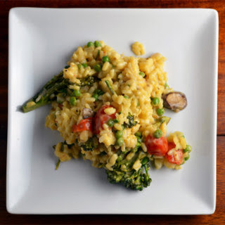 Creamy Vegetable Risotto Recipes.