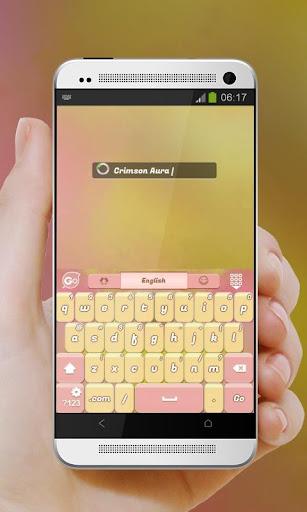 玩免費個人化APP|下載クリムゾンオーラ GO Keyboard app不用錢|硬是要APP