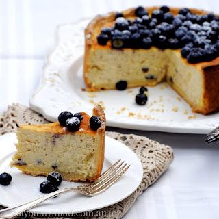 Baked Blueberry Ricotta Cheesecake Recipes