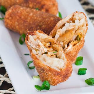 Chicken Egg rolls.