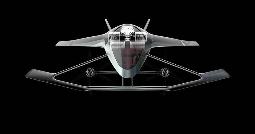 El concepto de avión de Aston Martin lleva el transporte personal de lujo al cielo