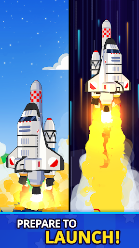 Rocket Star - Idle Space Factory Tycoon Game android2mod screenshots 2