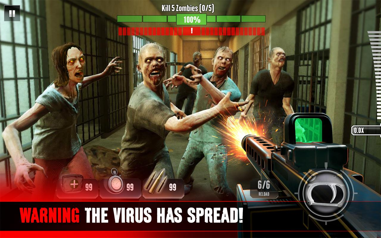 Kill Shot Virus– captură de ecran