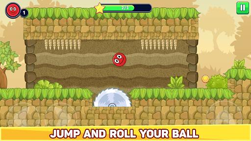 Bounce Ball 5 - Red Jump Ball Hero Adventure 2.4 apktcs 1