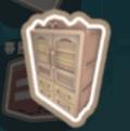 西洋式の収納ボックス