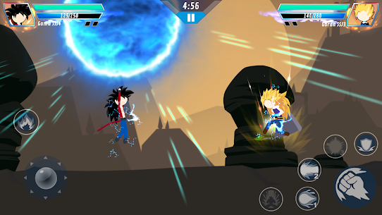 Stick Shadow Fighter – Supreme Dragon Warriors Apk Download For Android and Iphone 4