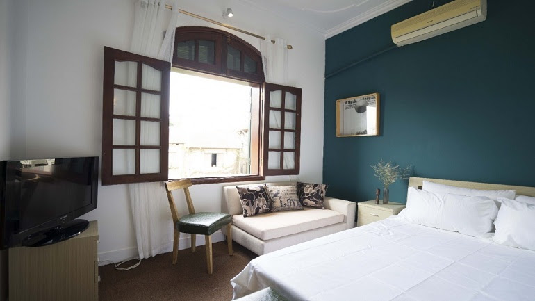 Cheap room in share house in Au Co street, Tay Ho district for rent