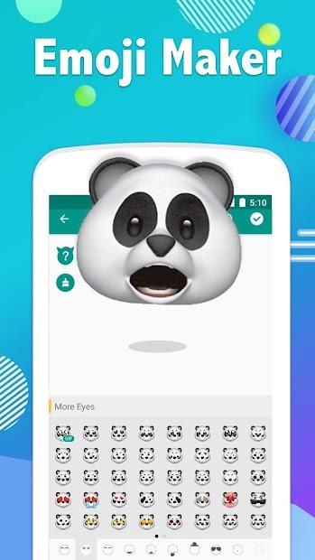 Emoji Maker- Free Personal Animated Phone Emojis Android App Screenshot