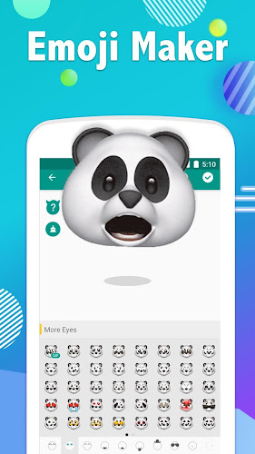 Emoji Maker- Free Personal Animated Phone Emojis Android App Screenshot
