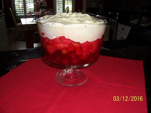 Cheery Cherry Trifle Recipe