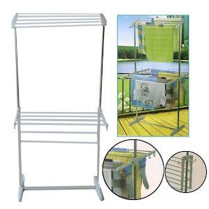 Uscator vertical pliabil pentru rufe