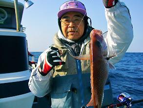 Photo: おおー! ワタナベさんもキャッチ!