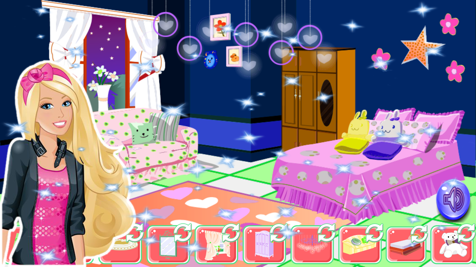Home d coration girls games android apps on google play for Baby room decoration games free online
