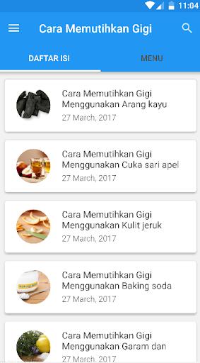 Download Cara Memutihkan Gigi Alami Google Play Softwares