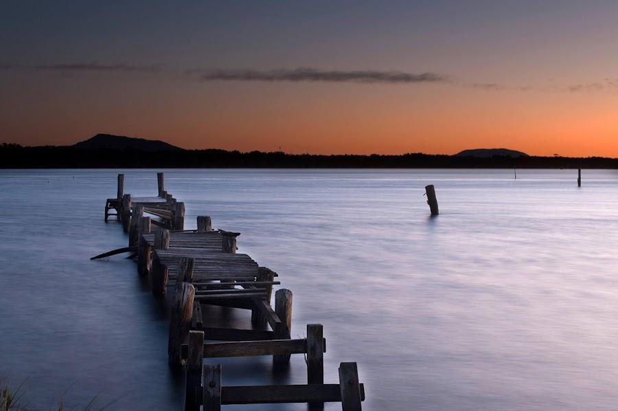 Manning Point Jetty by Toni Ellem - Novices Only Landscapes