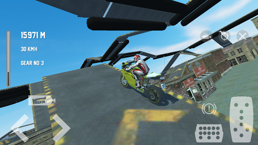 Motorbike Crush Simulator 3D  screenshots 1