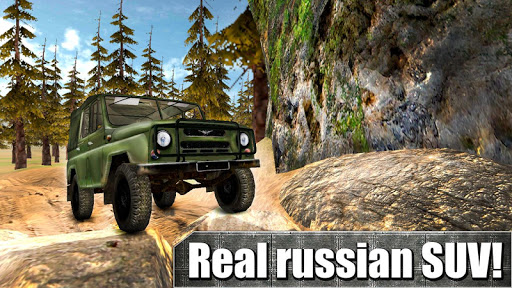 Russian UAZ: Offroad Racing 3D
