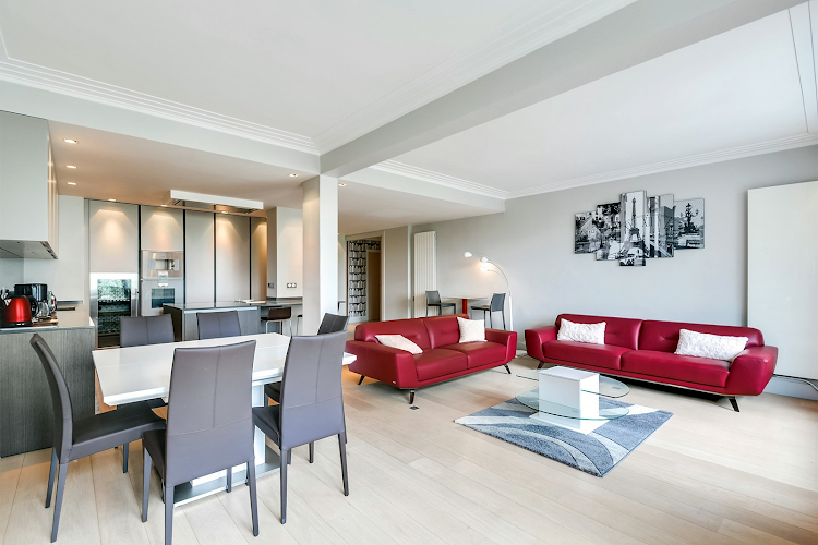 Living area at Saint-Antoine Apartment
