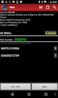 Screenshot of Datatrac for Drivers