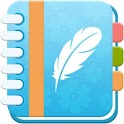Daily Diary : Journal with lock, photo, mood chart icon