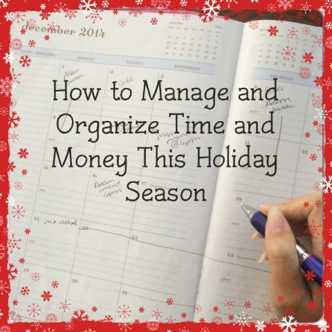 Day Planners for Moms - Manage and Organize Time & Money This Holiday Season - momAgenda