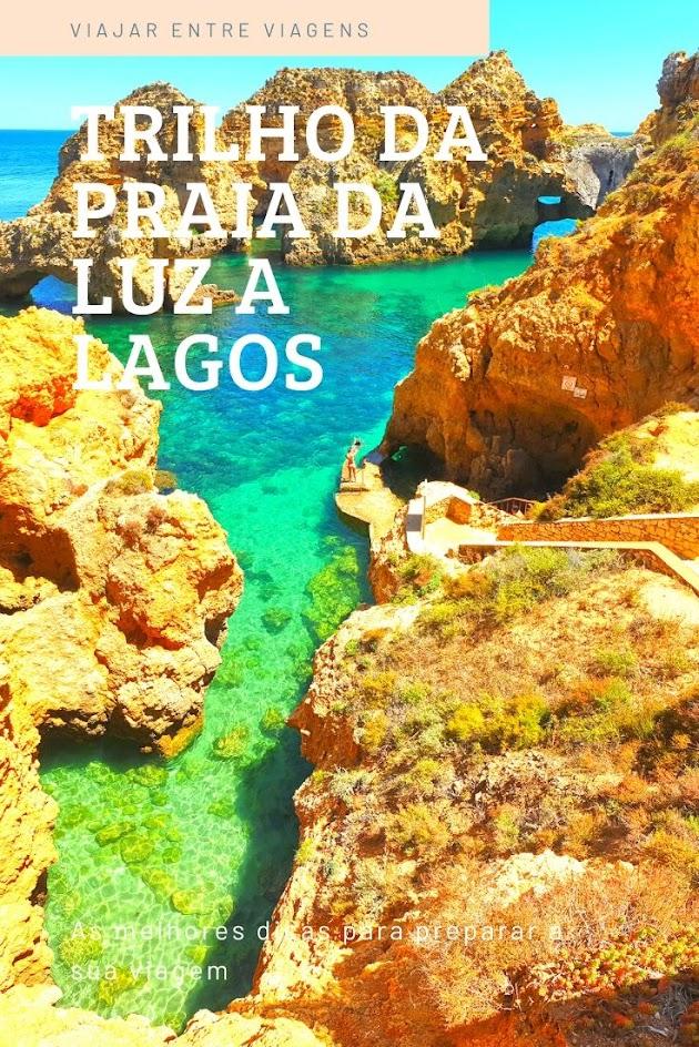 TRILHO DA PRAIA DA LUZ A LAGOS | O Trilho dos Pescadores que nos leva a visitar a Ponta da piedade e a praia dos Estudantes