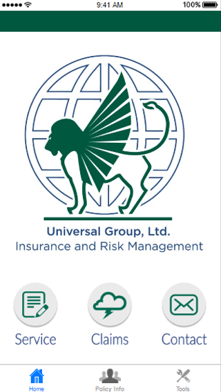 Universal Group Insurance- screenshot