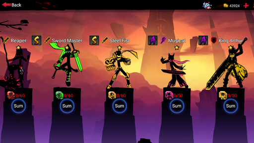 League of Stickman 2-Online Fighting RPG 1.2.5 screenshots 24
