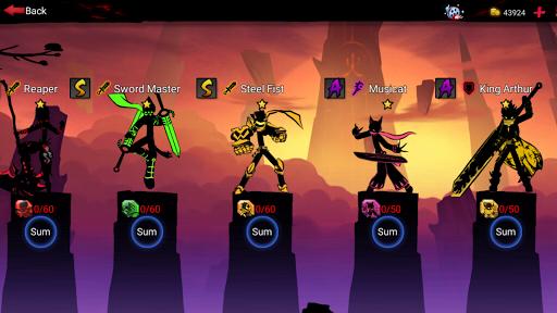 League of Stickman 2-Online Fighting RPG 1.2.7 screenshots 24