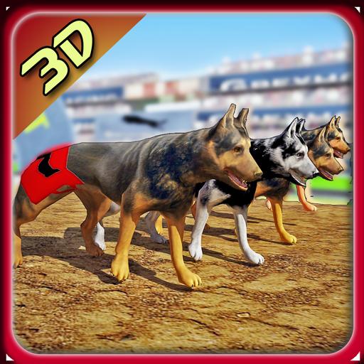 模拟の犬レーシング3Dシミュレータ LOGO-記事Game