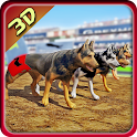 Dog Racing 3D Simulator icon