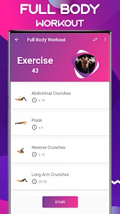 My Fitness – Home Workout App (No Equipment) Full Body Fitness 4