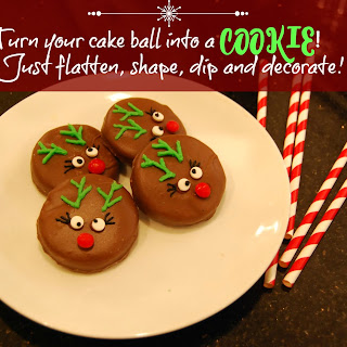 Turn Your Cake Ball Into a Cookie!  Recipe