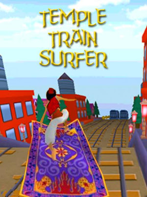 Temple Train Surfer - screenshot