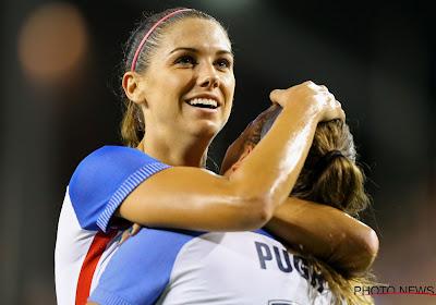 De toekomst van het vrouwenvoetbal is verzekerd? Alex Morgan werd moeder van een dochtertje