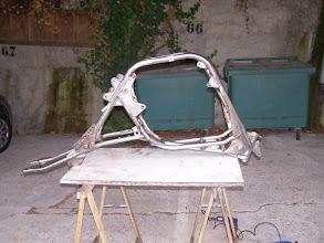 Photo: Cadre à nu (décapage chimique)