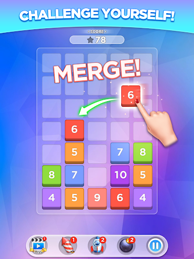 Merge Number Puzzle apktram screenshots 5