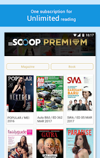 SCOOP Newsstand- screenshot thumbnail