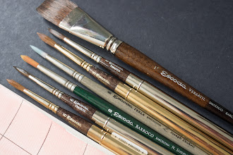 Photo: Escoda Versatil Watercolour Brush - http://www.parkablogs.com/node/10973
