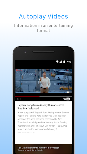 Inshorts - News Summary in 60 words app (apk) free download for Android/PC/Windows screenshot