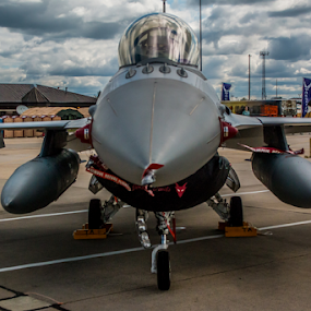 F-16 Fighting Falcon by Werner Ennesser - Transportation Airplanes ( f-16,  )