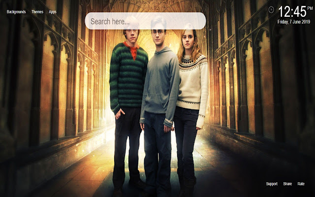 Harry Potter HD Wallpapers New Tab