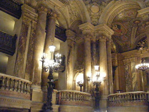 Photo: The Palais Garnier was designed as part of the great Paris reconstruction during the Second Empire (Emperor Napoleon III). In 1858 the Emperor authorized Baron Haussmann to clear 130,000 square feet of land to build a second theatre for the world-renowned Parisian Opera and Ballet companies.