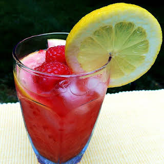Fresh Raspberry Lemonade.