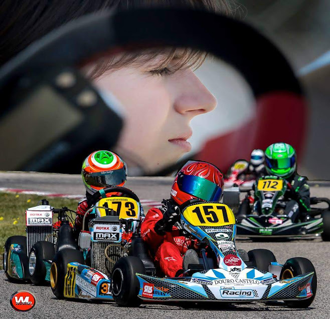 Pedro Rilhado foi 7º na jornada inaugural do Rotax Max Challenge Portugal 2019 em Palmela