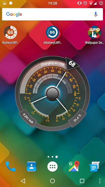 Advanced Battery Livewallpaper v5 [Premium]