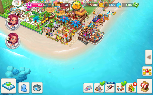 My Little Paradise : Resort Management Game android2mod screenshots 24