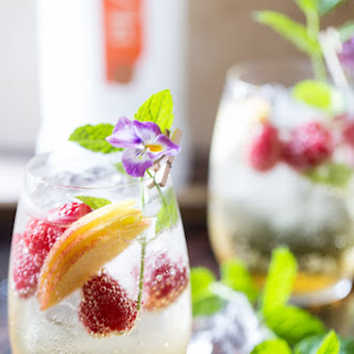 Just Peachy Champagne Spritzer